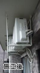 東芝 ルームエアコン RAS-2212D-W 施工後