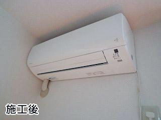 ダイキン エアコン SET-S28NTES-W 施工後