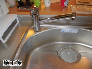 LIXIL キッチン水栓 SF-WM420SYX-JW
