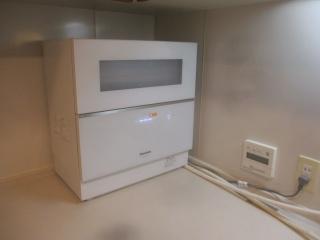 パナソニック 卓上型食器洗い乾燥機 NP-TZ200-W-KJ