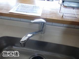 TOTO製 キッチン水栓