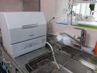 パナソニック 卓上型食洗機 NP-TCR1-W