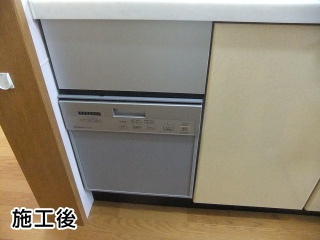 三菱・ビルトイン食器洗い乾燥機・除菌洗浄・除菌乾燥・スタンダードタイプ・シルバー・ドアパネルタイプ EW-DP45S