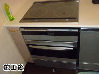 パナソニック IHヒーター+電気オーブン  KZ-R763S+NE-DB901W
