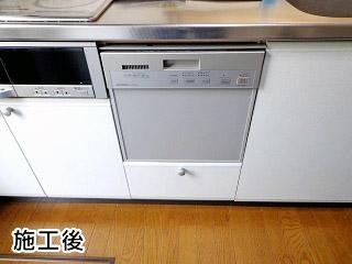 三菱電機 ビルトイン食器洗い乾燥機・除菌洗浄・除菌乾燥・スタンダードタイプ・シルバー・ドアパネルタイプ EW-DP45S