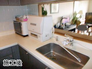 NP-TCR2-W 施工事例 パナソニック 卓上 食器洗い機