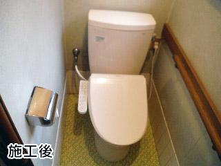 東芝 温水洗浄便座 SCS-T160 + TOTO トイレ TSET-B5-IVO-0-R