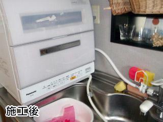 NP-TR8-W 施工事例 パナソニック 卓上 食器洗い機