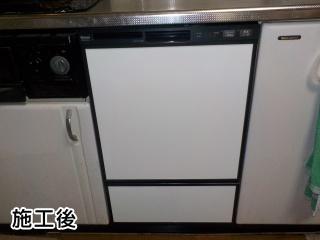 RSW-F402C-B 施工事例 リンナイ ビルトイン 食器洗い機