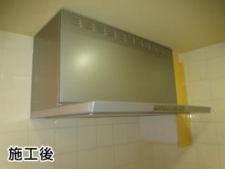 XGR-REC-AP903-SV 施工事例 リンナイ レンジフード