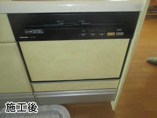 NP-P60V1PKPK 施工事例 パナソニック ビルトイン 食器洗い機