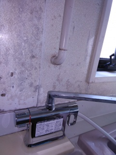 LIXIL 浴室水栓 BF-WM646TSG–300-KJ