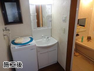 パナソニック:洗面化粧台部材:GQM60KSCW+GQM60K1NMK