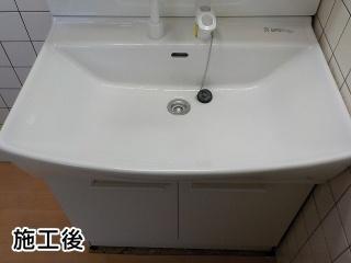 ノーリツ 洗面化粧台 LRCM-0756H-W-LSAB-70AWN1B