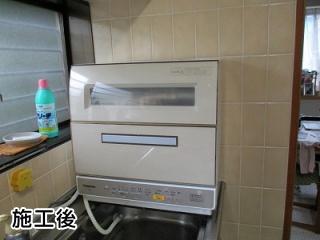 パナソニック 卓上型食器洗い乾燥機 np tr9 c 住の森 施工事例集