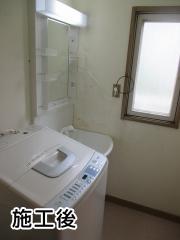 パナソニック 洗面化粧台 GQM60KSCW+GQM60K1NMK