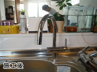 三菱レイヨン キッチン水栓 F914ZC